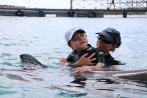 Bram dolfijnen therapie curacao