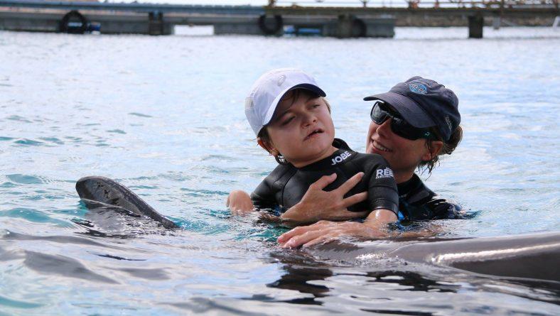 Het avontuur van Bram bij de dolfijnen